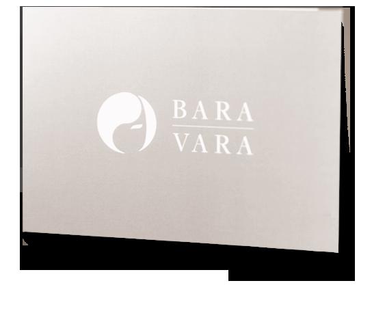 Prestenkort - Frisör Bara Vara - Södra Långgatan 22 - Design av logotyp: Monroe Design